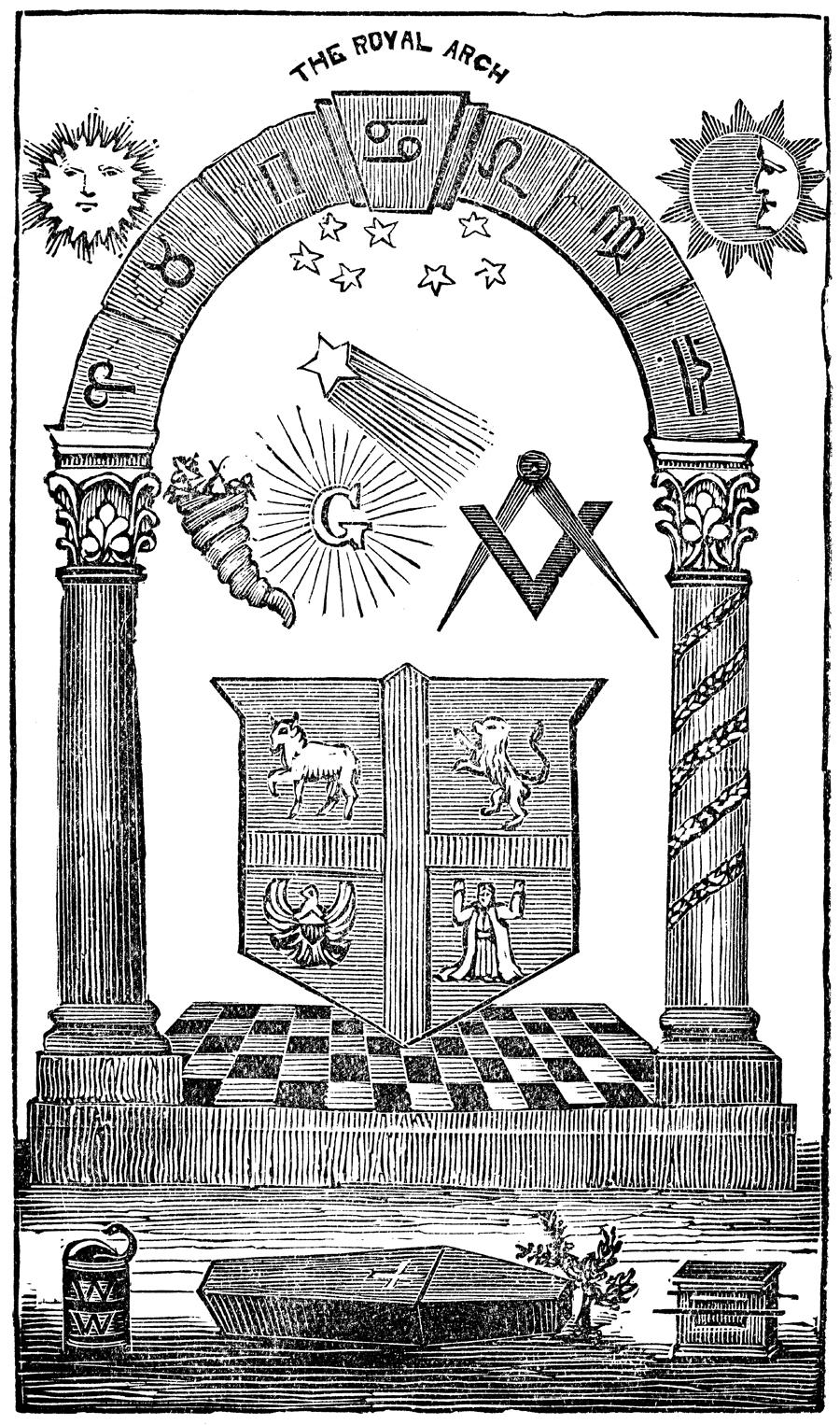 The Mysteries Of Freemasonry Frontispiece